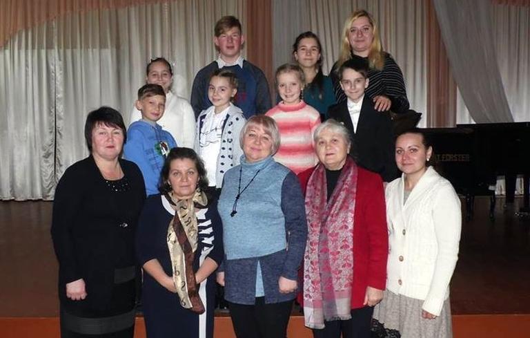 """Вихованці Школи мистецтв успішно виступили на обласному конкурсі скрипалів """"Надія"""""""