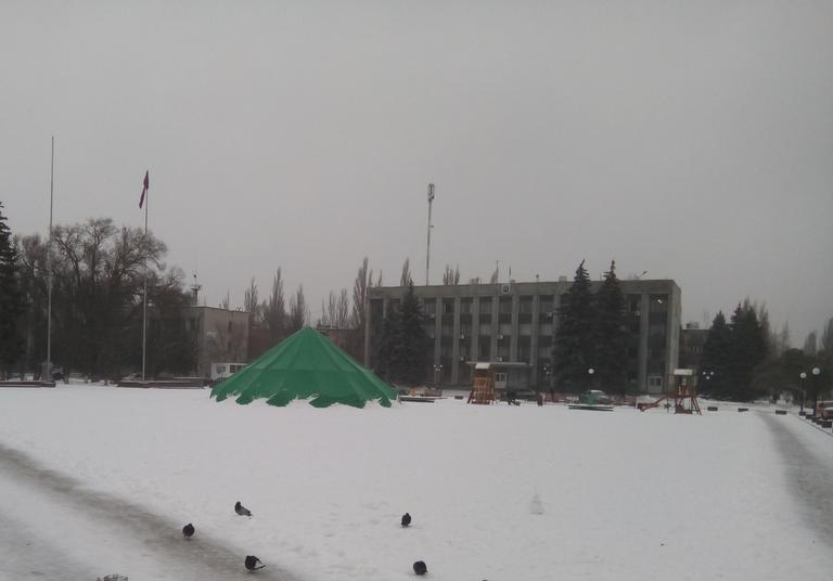 В Покров пришла зима