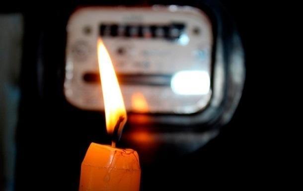Жители 22-х улиц Покрова остались без электричества на Рождество