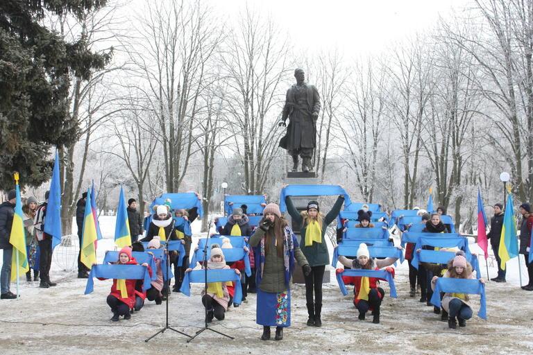 Покров відзначив День соборності України (ФОТО, ВІДЕО)