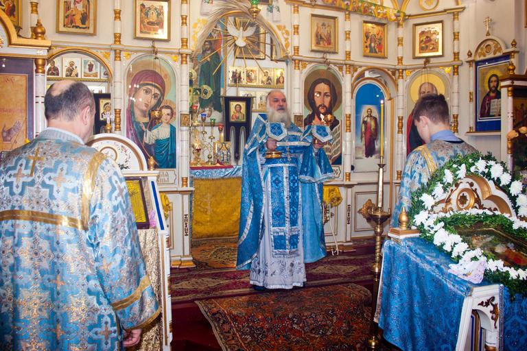 Праздник Сретения Господнего в храме св. ап. Иоанна Богослова