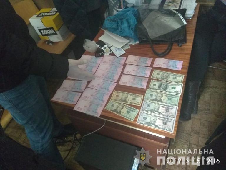 На Днепропетровщине задержали группу чиновников-взяточников