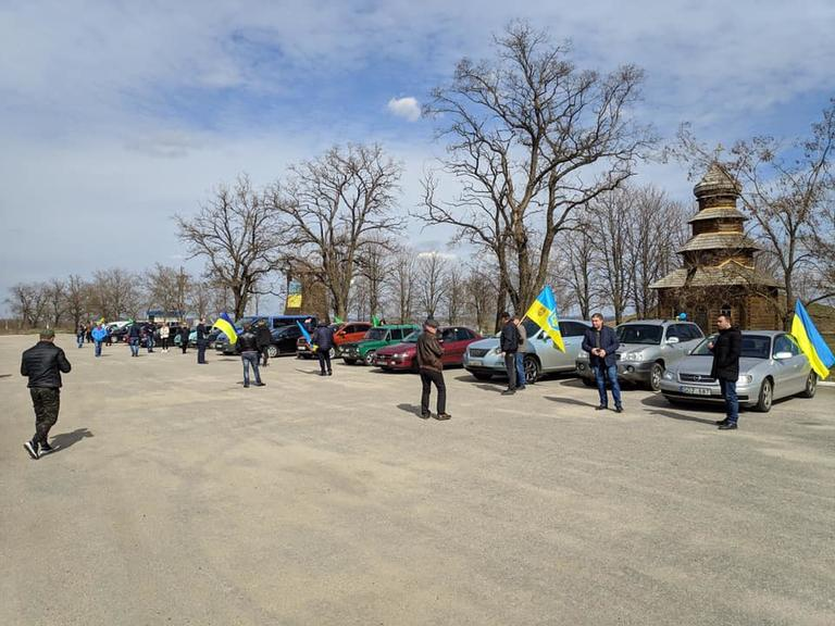 14 апреля в Покрове пройдет автопробег в поддержку Владимира Зеленского