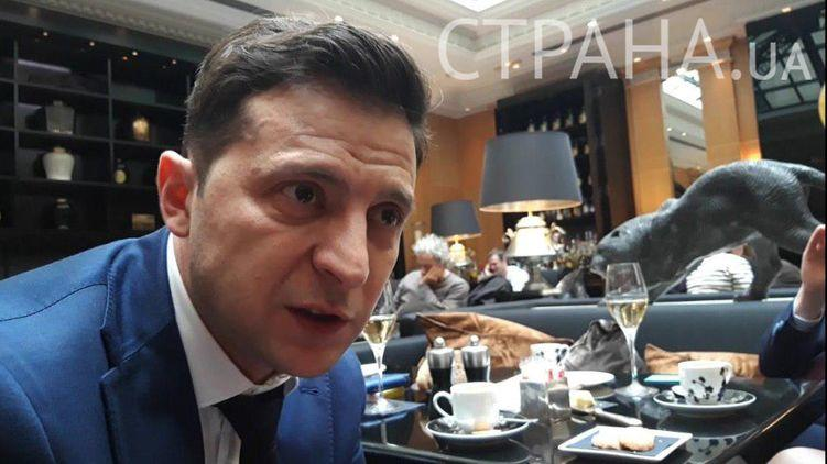 """Владимир Зеленский: """"Порошенко столько раз меня оскорблял, что у меня нет к нему уважения"""""""