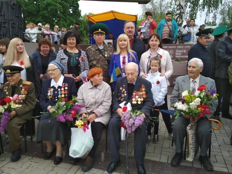 9 травня Нікополь святкує 74-у річницю Перемоги над фашизмом
