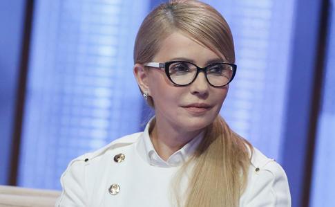 Тимошенко передала Зеленському пакет своїх указів про зниження тарифів