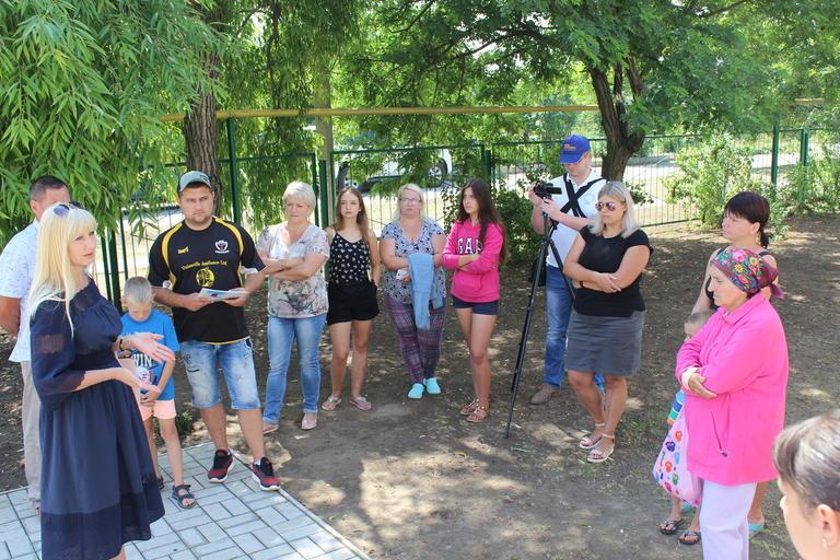 Олександра Сотула відвідала Катеринівку (ВІДЕО)