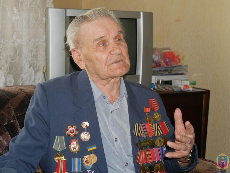 На 94 році пішов з життя Почесний громадянин міста, ветеран війни, засновник спортивного руху - Андрій Іванович Череп