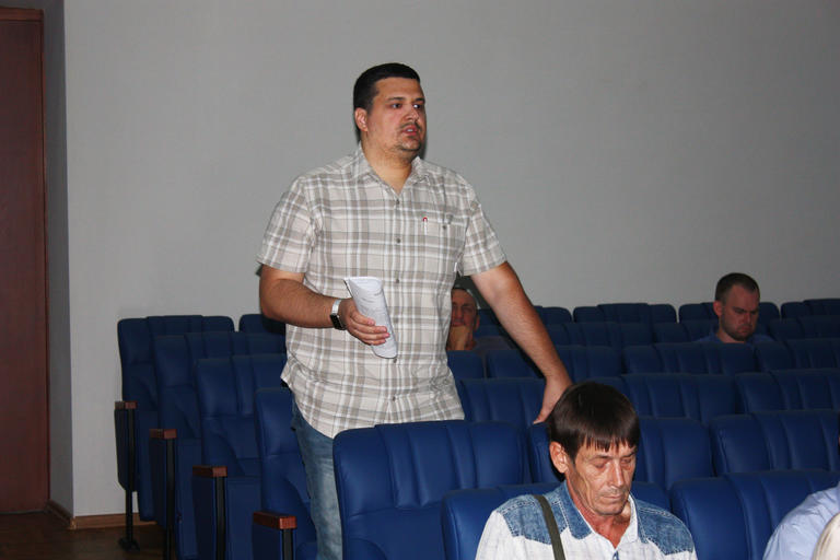На сессии горсовета обсудили отключение газа в ОСМД «Скіфське містечко»