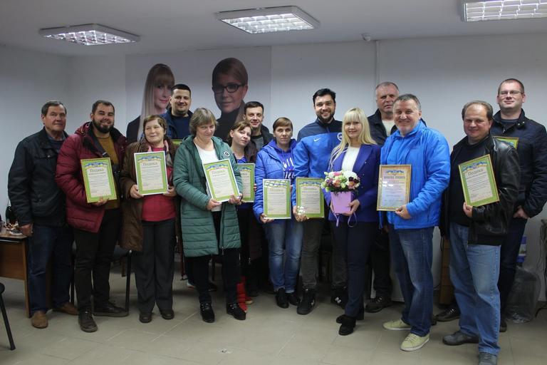 Олександра Сотула в Покрові зустрілася з активістами «Батьківщини»