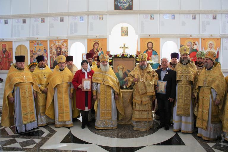 В храме Иоанна Богослова отметили престольный праздник (ФОТО, ВИДЕО)
