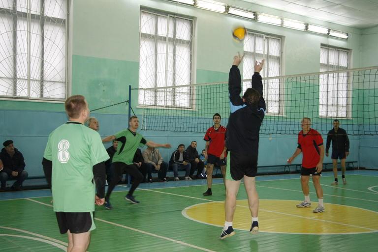 Волейбольный трофей у Александровского карьера