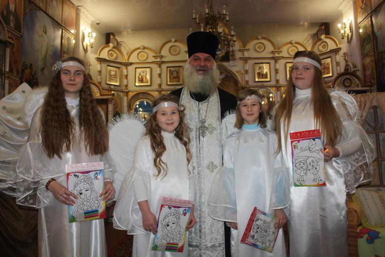В храме Иоанна Богослова прошел традиционный рождественский спектакль (ФОТО, ВИДЕО)