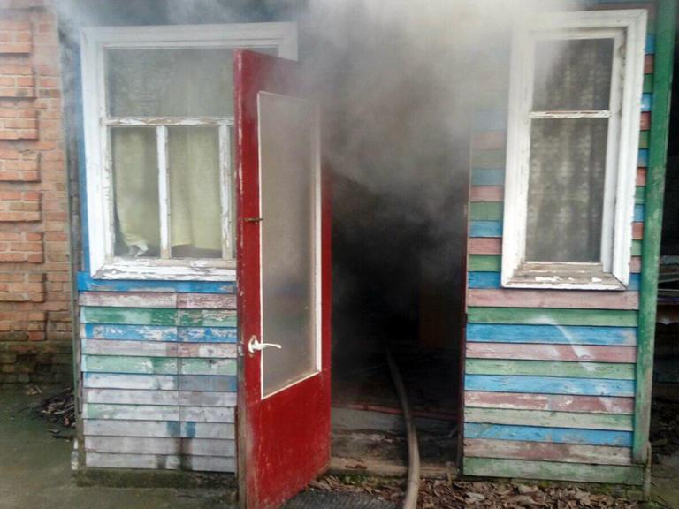 В Покрове на пожаре погиб человек