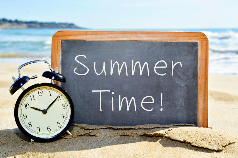 Украина переходит на летнее время