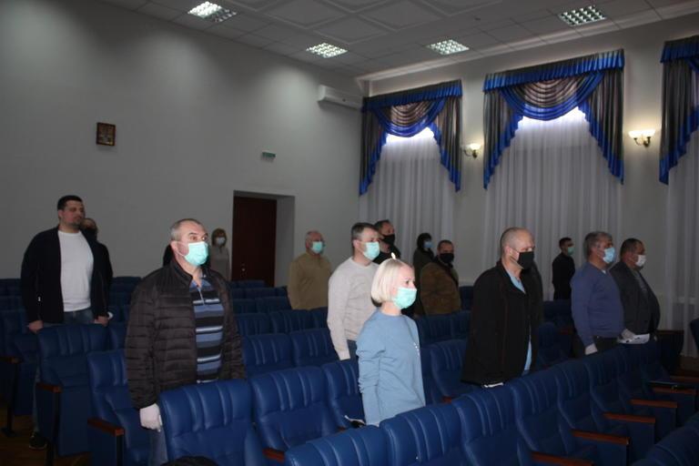 Скандал с маской и противодействие коронавирусу: на сессии горсовета (ВИДЕО) (обновлено)