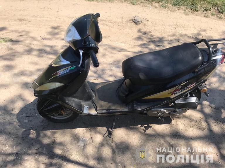 Похитил мопед и вернулся за бензопилой: в Марганце задержали настойчивого вора