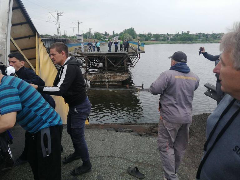 Между Покровом и Никополем обрушился мост!