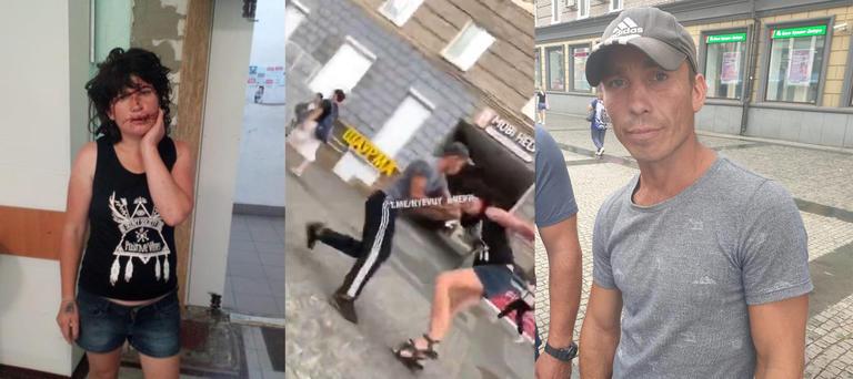 В Днепре задержали жителя Покрова, избившего женщину прямо в центре города (ВИДЕО)