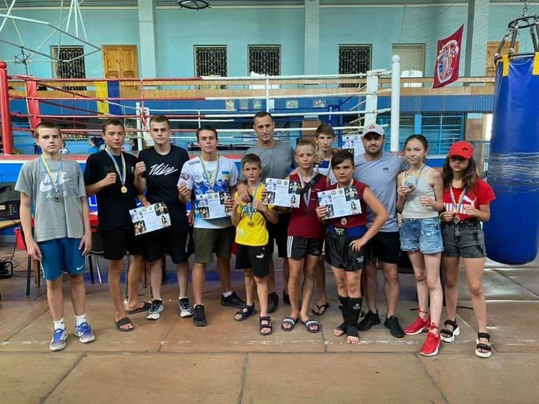 Спортсмени Покрова завоювали 9 медалей відкритого чемпіонату Запорізької області з таїландського боксу