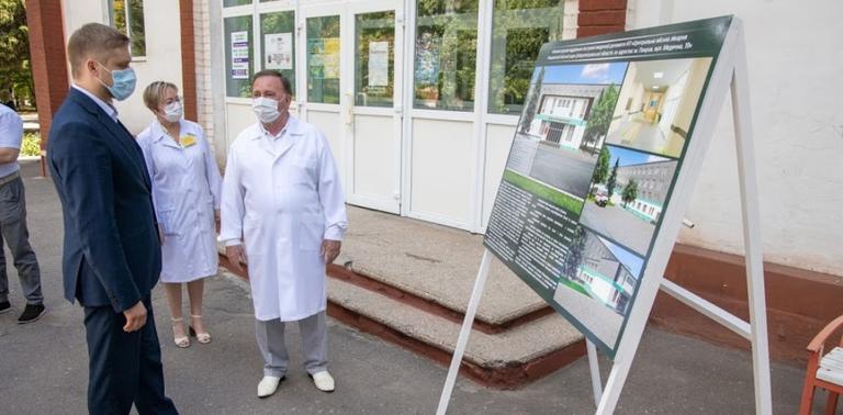 У міській лікарні Покрова планують облаштувати сучасне відділення екстреної меддопомоги
