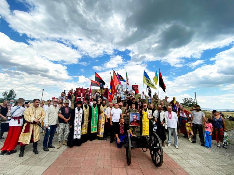 Козаки зі всієї України вшанували пам'ять Івана Сірка (ФОТО, ВІДЕО)