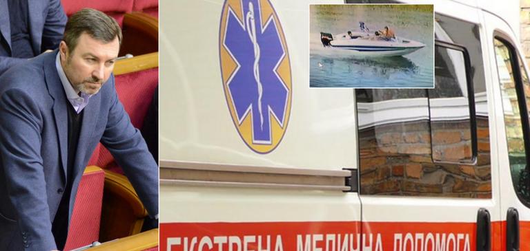 На Днепропетровщине два катера столкнулись лоб в лоб: пострадавшие обвинили бывшего нардепа-регионала Андрея Шипко