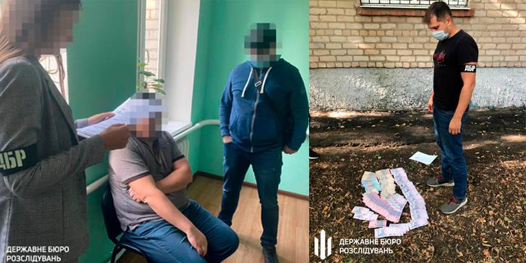 ДБР затримало прокурора однієї з місцевих прокуратур Дніпропетровщини під час одержання хабара