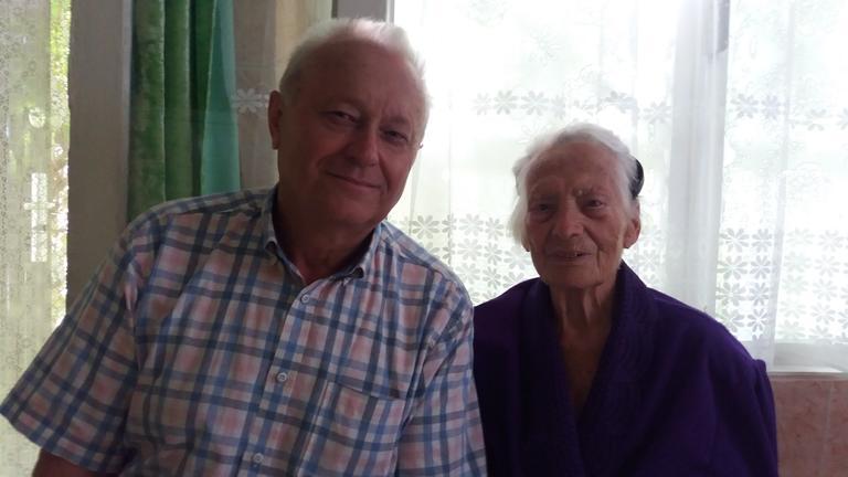 Микола Біднюк привітав свою вчительку