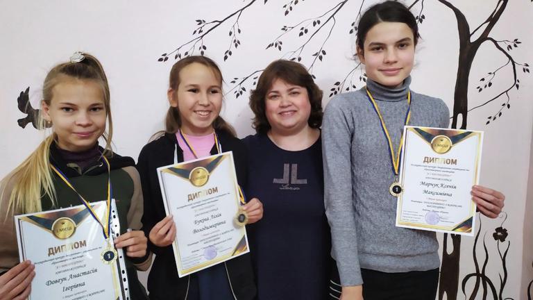 Вихованці Будинку творчості дітей та юнацтва стали переможцями Всеукраїнського дистанційного конкурсу «Я і мистецтво»