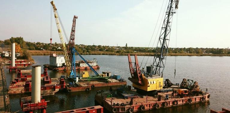 У Нікопольському районі розпочали реконструкцію мосту через річку Чортомлик
