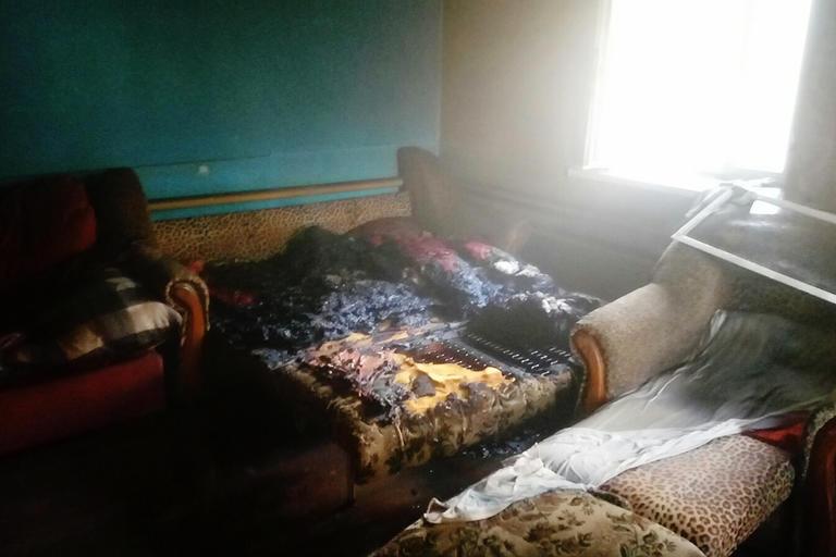 м. Покров: внаслідок пожежі загинуло близько 30 курчат