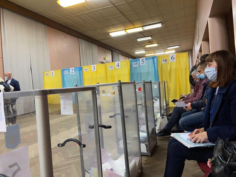 Местные выборы-2020: как проголосовал Покров