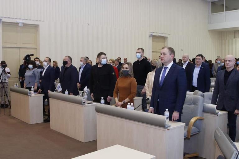 Відбулася перша сесія Дніпропетровської обласної ради VIII скликання