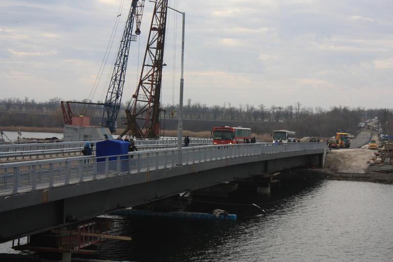 Состоялось открытие моста возле Алексеевки