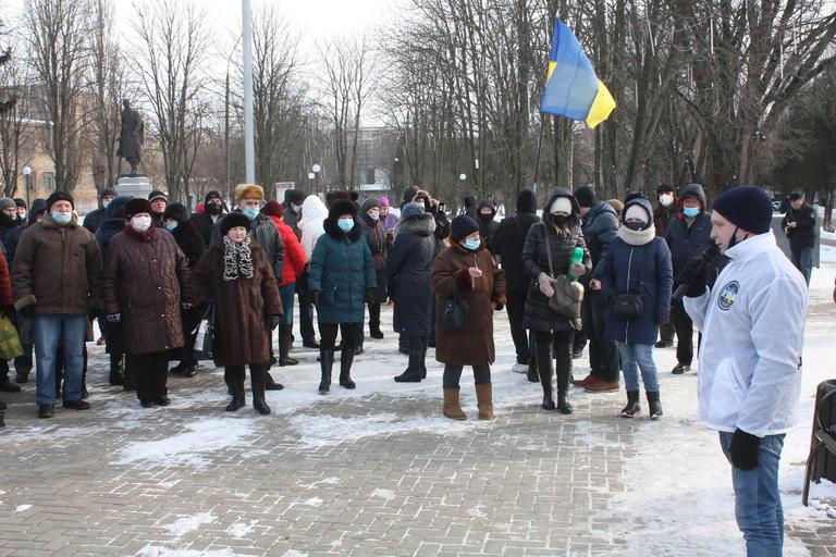 Покровчане продолжают протестовать против повышения коммунальных тарифов