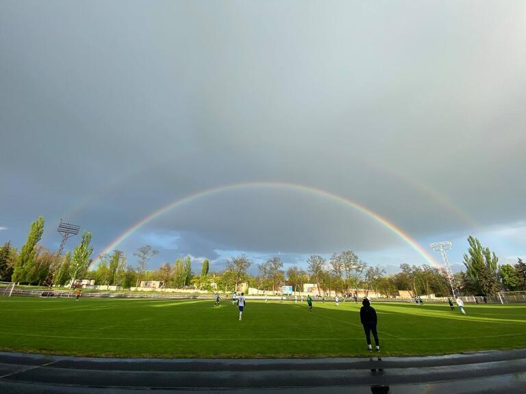 Футбол: в Покрове состоялся ответный матч ½ Кубка области