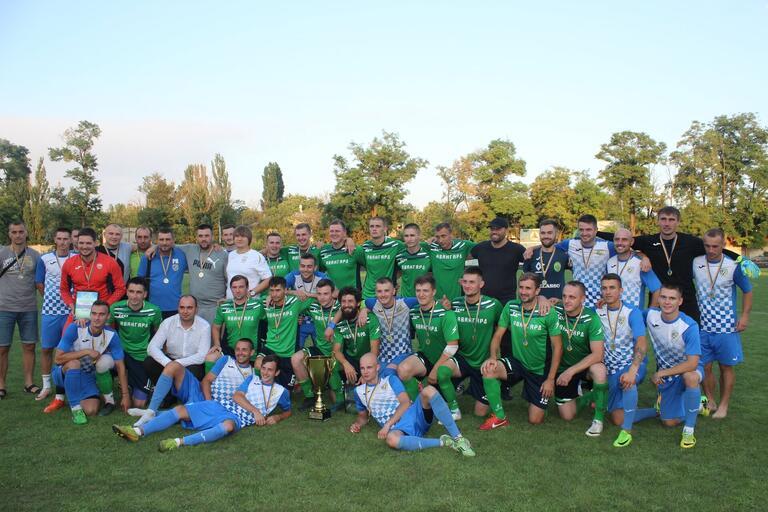 В Покрове состоялся матч за Суперкубок Днепропетровской области по футболу (ВИДЕО)