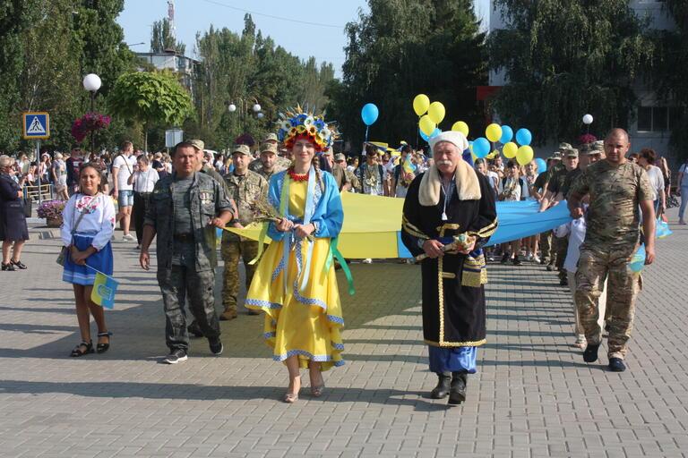 У Покрові відбулися урочистості до Дня Державного Прапора України